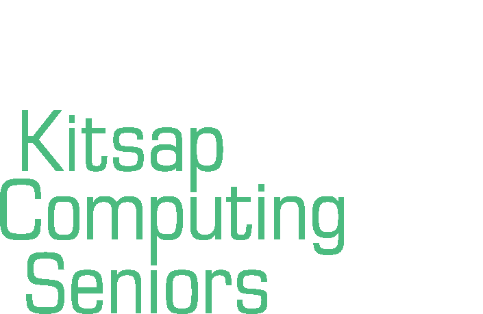 Kitsap Computing Seniors